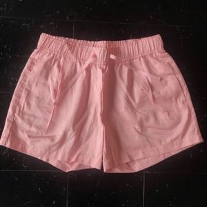 J. Crew Pink Pajama Shorts Fit Like Women's Small